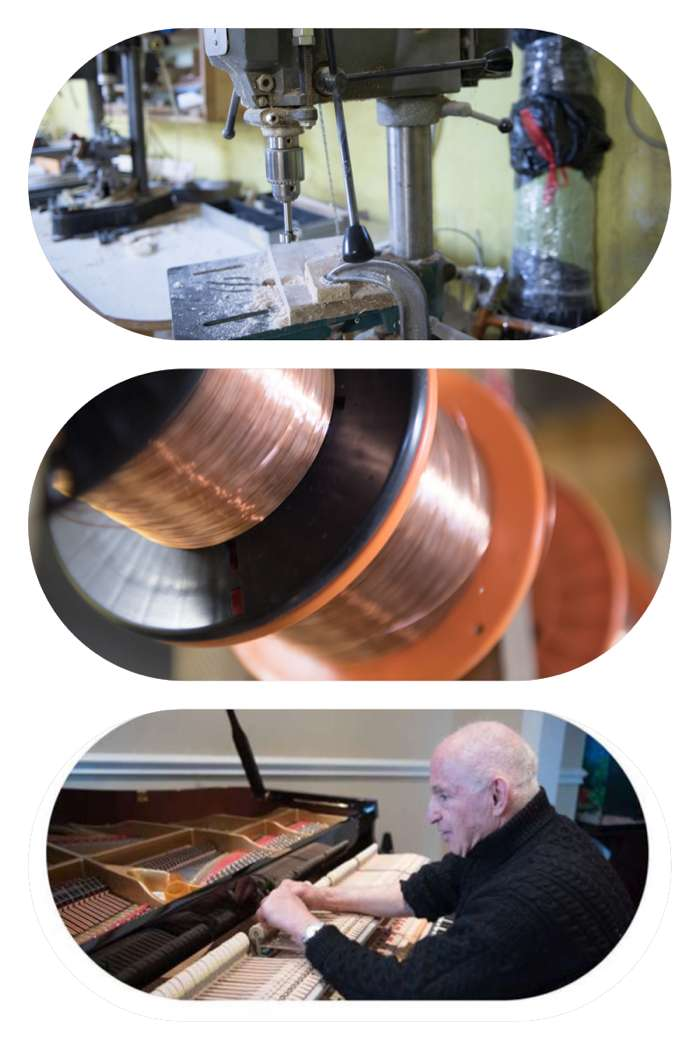 Ari Isaac Pianos - Piano Custom Made Hammers and Bass Strings